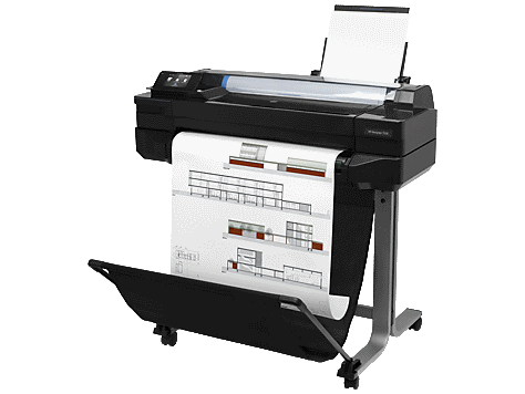 HP Designjet T520 a1 printer