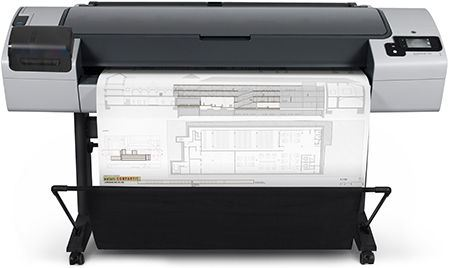 HP designjet T795 A0 printer