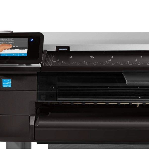 HP Designjet T830 touchscreen