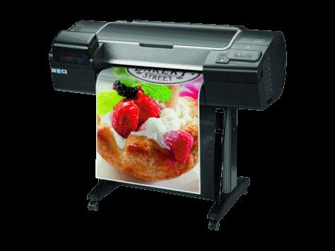 HP designjet Z2600 A1 poster printer