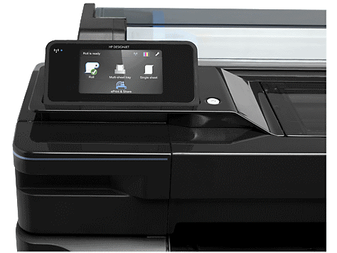 hp designjet t520 touchscreen