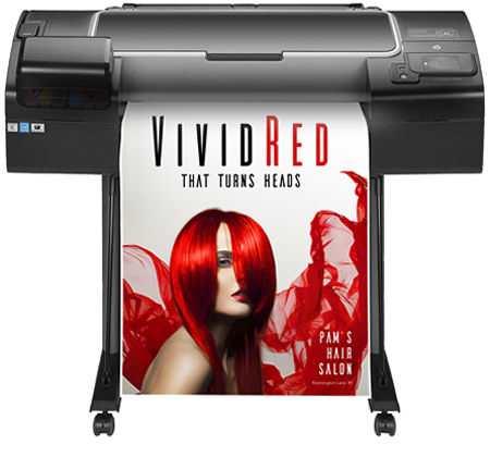 HP designjet Z2600 POS printer