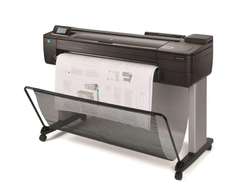 HP Designjet T730 bouwtekeningen