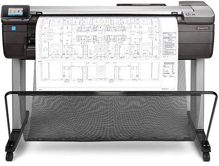 HP Designjet T830 a0 scanner