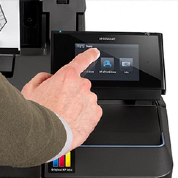 HP Designjet T930 kleurentouchscreen